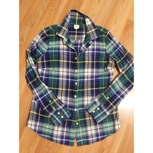 "Jcrew ""the perfect shirt"" size small"